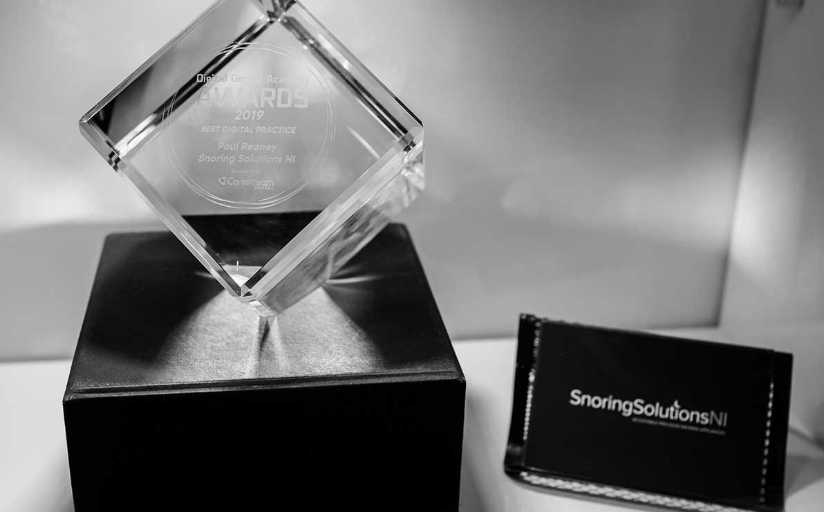 Award for our Snoring Solutions clinic